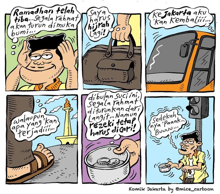 Mice Cartoon, Komik Jakarta - Juni 2015: Ramadhan Tlah Tiba