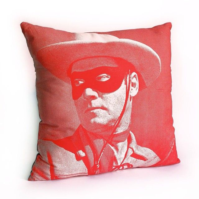 """""""Ranger Pillow  Printed on cotton canvas.  Colors can be customised #ylayastudio #pillows #homeaccessories"""""""