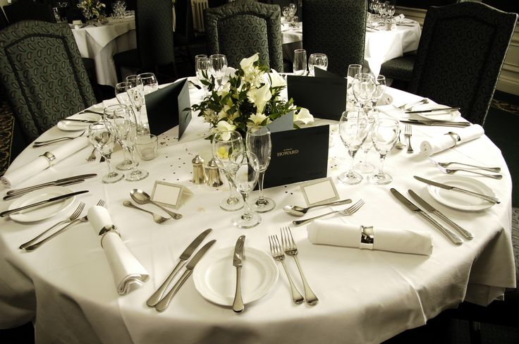 Luxury private dining at our 5 star Edinburgh hotel, complete with butler service! http://www.thehoward.com/