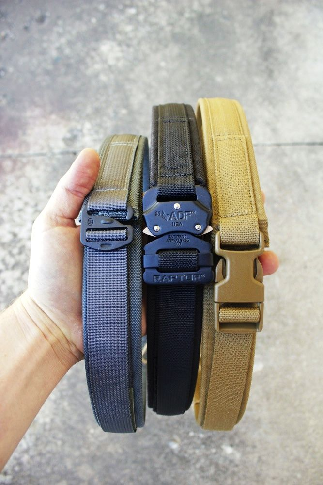 The GIBBORIM Gun Belt, featuring the RAPTOR™ Buckle, is the Cadillac, the Ferrari, the Bugatti of EDC belts.