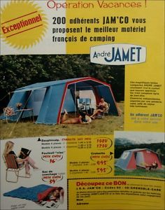 PUBLICITE-advertising-tente-andre-JAMET-tent-PRINT-AD- & 425 best Glamping images on Pinterest | Survival skills Bushcraft ...