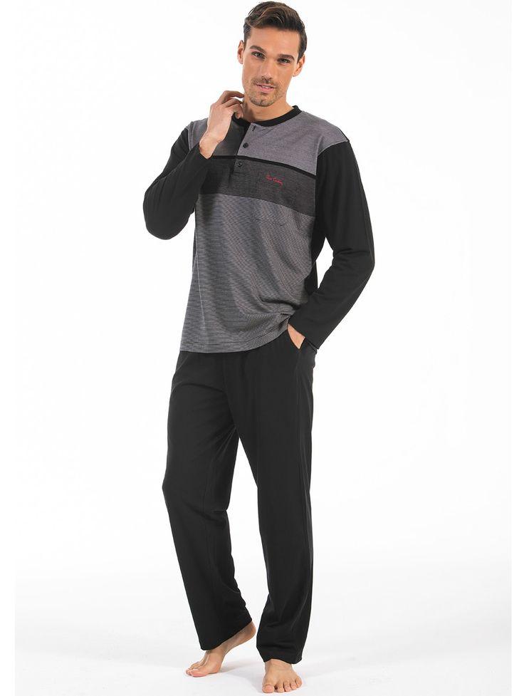 Pierre Cardin 5401 Erkek Pijama Takım | Mark-ha.com #markhacom #hediye #pierrecardin #erkekmodası #pijama #stylish #fashion #newseason #yenisezon #trend #moda