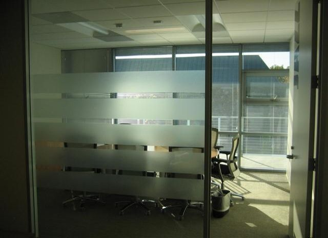 Frosted Window Glass Film With Logo