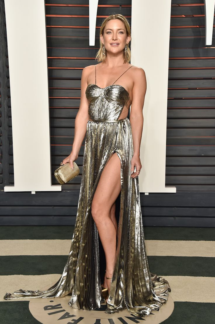 Kate Hudson Oscar 2016 - silver party dress / vestido de festa