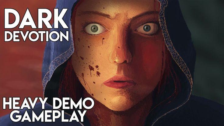Dark Devotion Gameplay   Kickstarter Roguelike Souls Like 2D Pixel Art A...