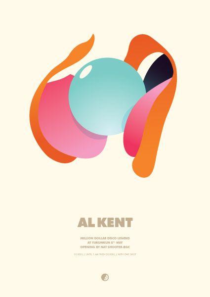 GigPosters.com - Al Kent