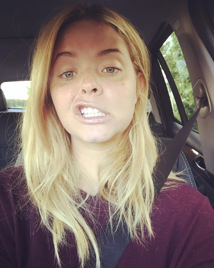 Sasha Pieterse without makeup Pretty little liars