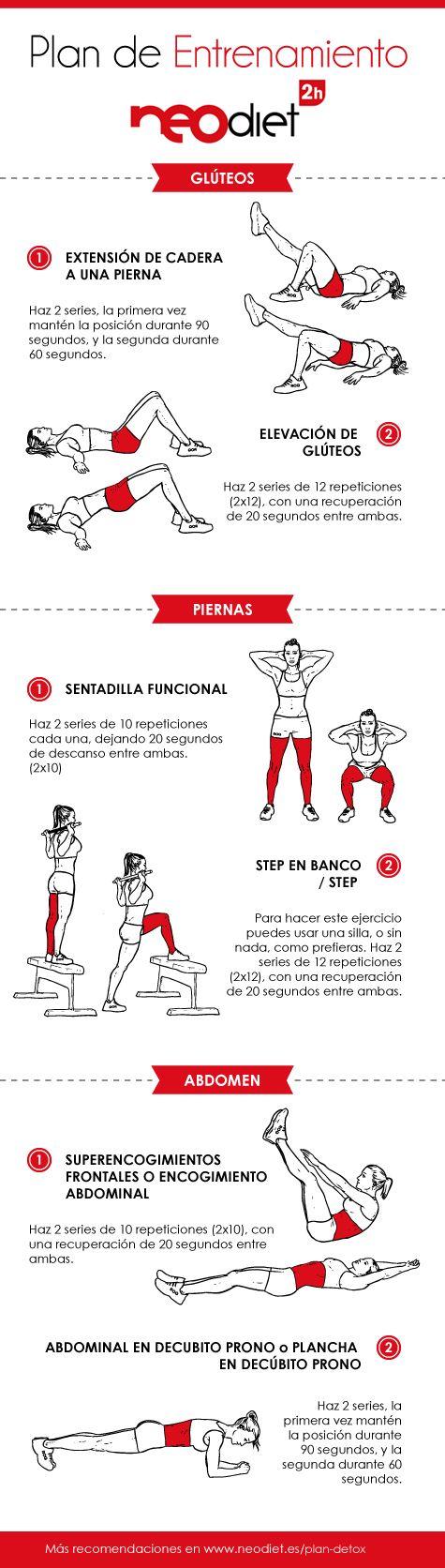 entrenamiento plan detox