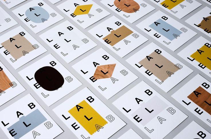 Label Lab Visual Identity by TM Studio http://mindsparklemag.com/design/label-lab-visual-identity/