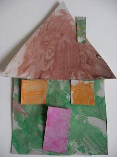 10 ideias de atividades com formas geométricas - casinha de formas