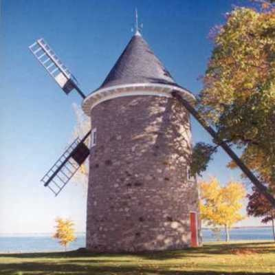 Point Claire Wind MillNotes: Photos by Trish Kane Built in 1709 Location: In Quebec near Montreal