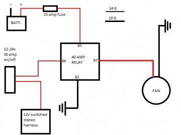 radiator fan relay diagram 14 19 gvapor nl \u2022 Auto Radiator Diagram diy radiator fan relay fan relay diagram radiator fan radiators rh pinterest com car radiator fan relay diagram radiator cooling fan relay wiring diagram
