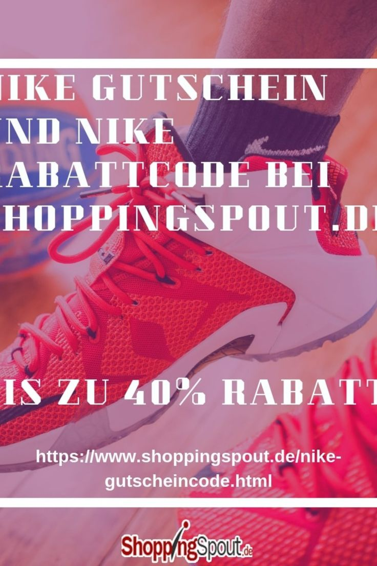 Findedn Nike Gutscheincodes und Rabatte bei Shoppingspout