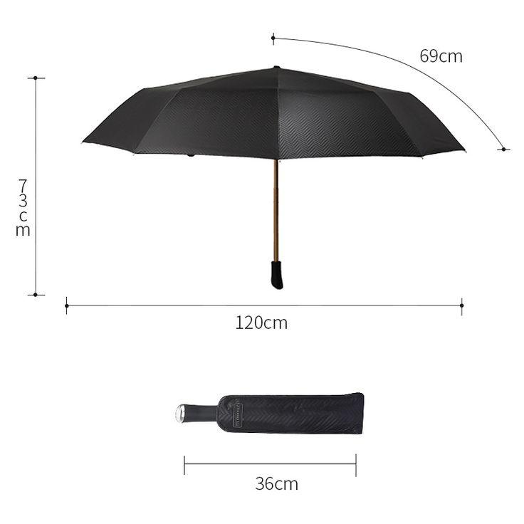 big rain umbrella men windproof umbrellas male folding black TTK brand waterproof parasol sun man fishing umbrella corporation #Affiliate