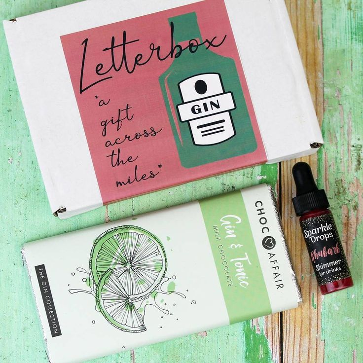 Letterbox Gin Themed Gift