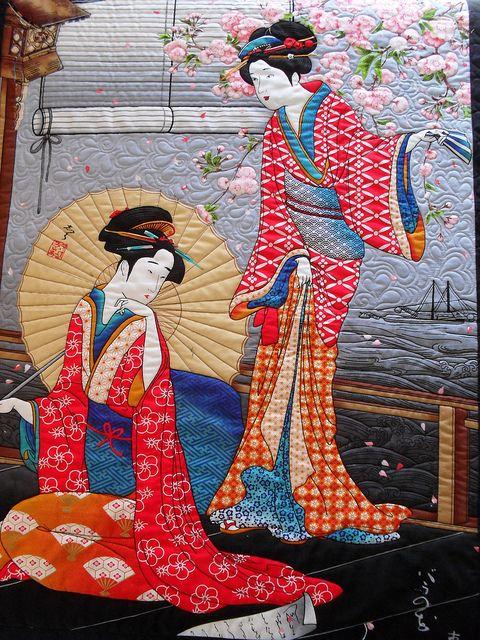 """Oriental"" #quilt #quilting #textile #art"