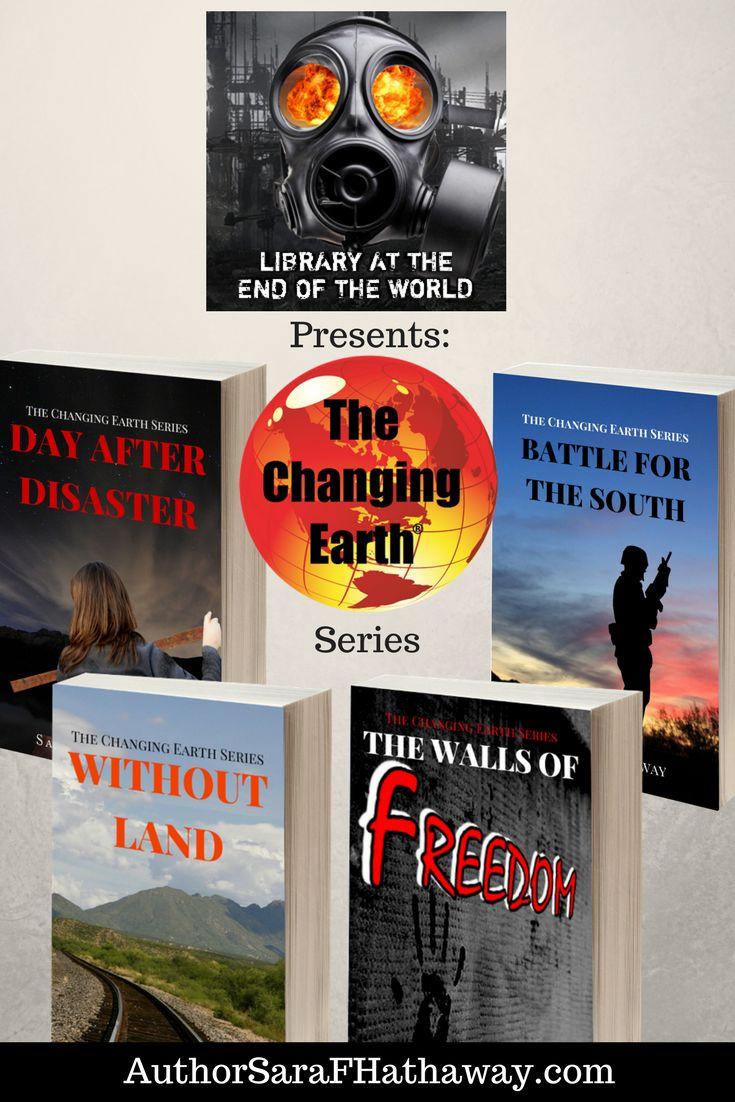 Host Jim Cobb @SurvivalWeekly presents The Changing Earth Series on the Library at the End of the World Podcast. Entertainment and education blended together to help you survive.