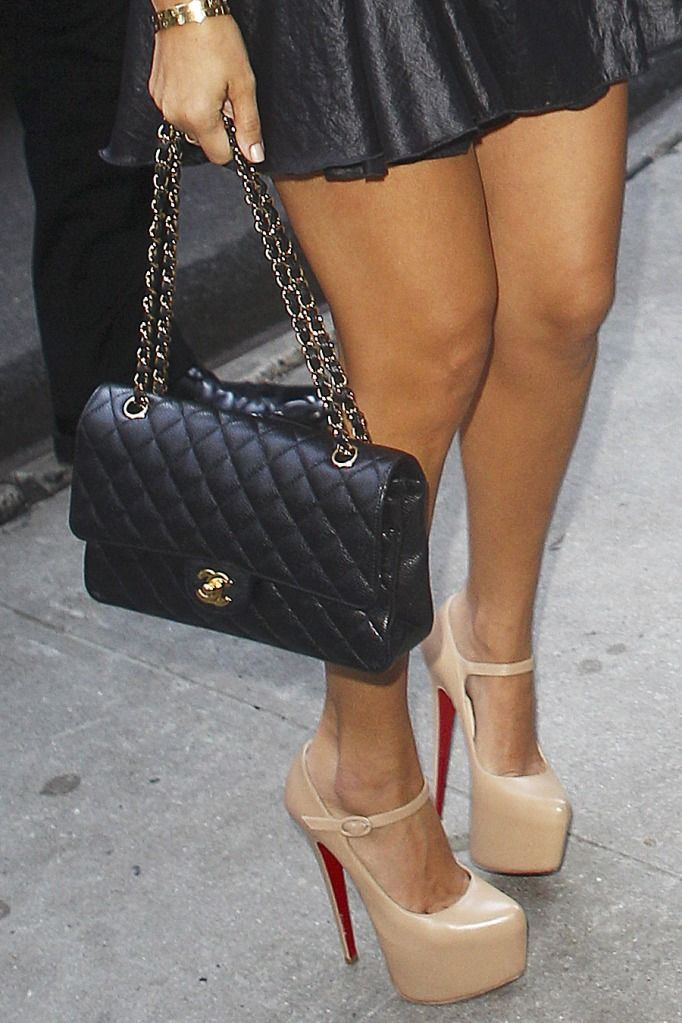 chanel and loubs