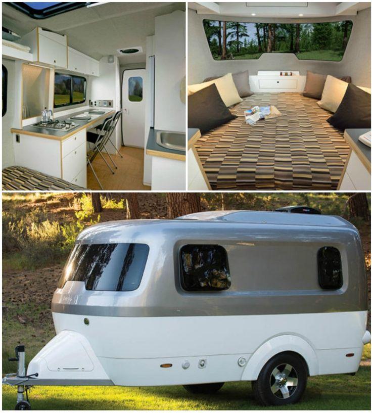 best 25 rv trailers ideas on pinterest trailer organization travel trailers and rv. Black Bedroom Furniture Sets. Home Design Ideas