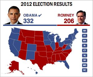 Final Electoral Map 2012 | Rebel, rural = Republican. The yin-yang of security vs. liberty means