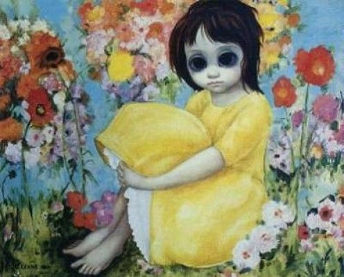 In the garden - Margaret Keane My favorite of her art...