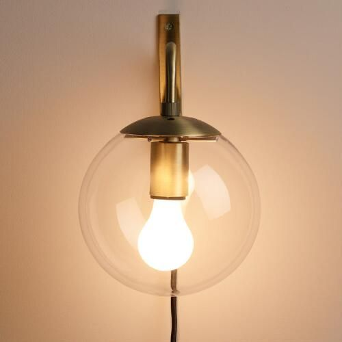 Corner Wall Sconce Plug In : 1000+ ideas about Plug In Wall Sconce on Pinterest Wall Lighting, Swing Arm Lamps and Lamps