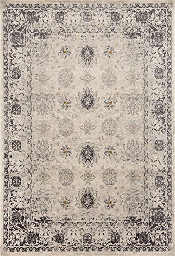 7010 Gray Traditional 5 X 7 Area Rug Carpet Large New You Can