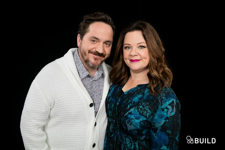 Melissa McCarthy, and husband Ben Falcone
