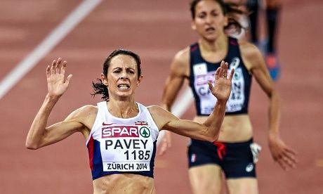 Britain's Jo Pavey in Zurich