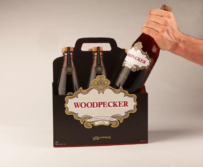 Woodpecker Cider - Rebecca Clarke Design