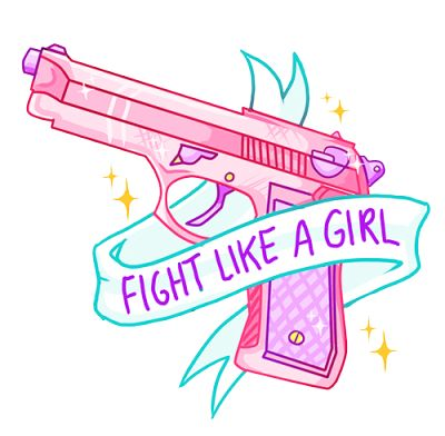 1000 images about g u n on pinterest pistols pastel for Fight like a girl tattoos pictures