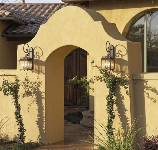 1000 images about spanish style on pinterest porch for Hacienda style lighting
