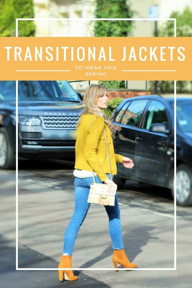 Looking to inject some spring into your wardrobe before it's really warm enough? Here's my round up of this season's best transitional jackets. #30plusfashion #30plusstyle
