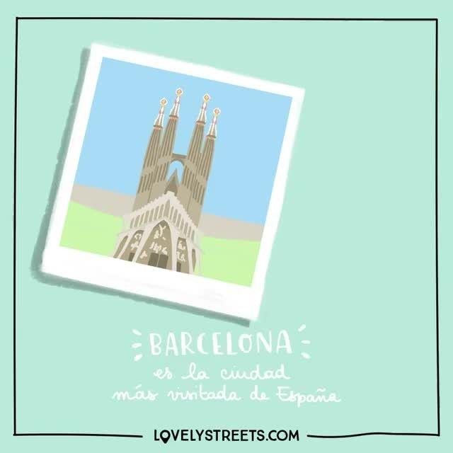 Miles de rincones, callejuelas que tienen historias escondidas y tiendas que desprenden arte. Barcelona ofrece un mundo por descubrir. #lovelystreets #barcelona #facts #spain #summer #travel #explore #discover
