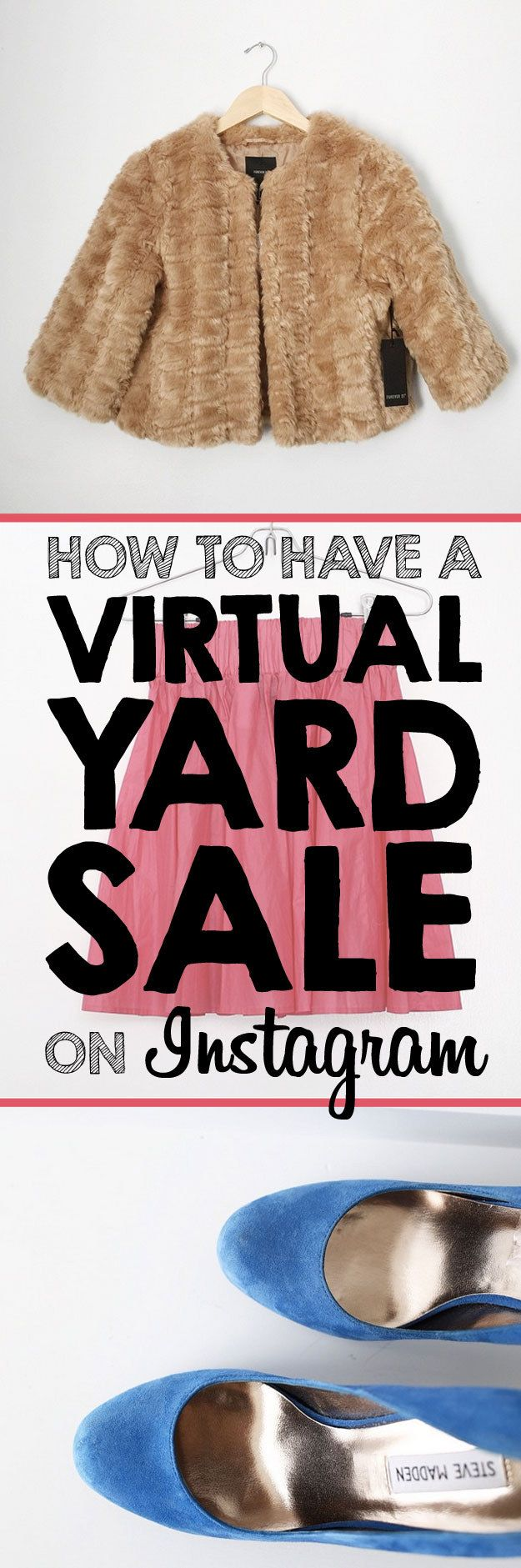 Here's How To Have An Awesome Virtual Yard Sale On Instagram