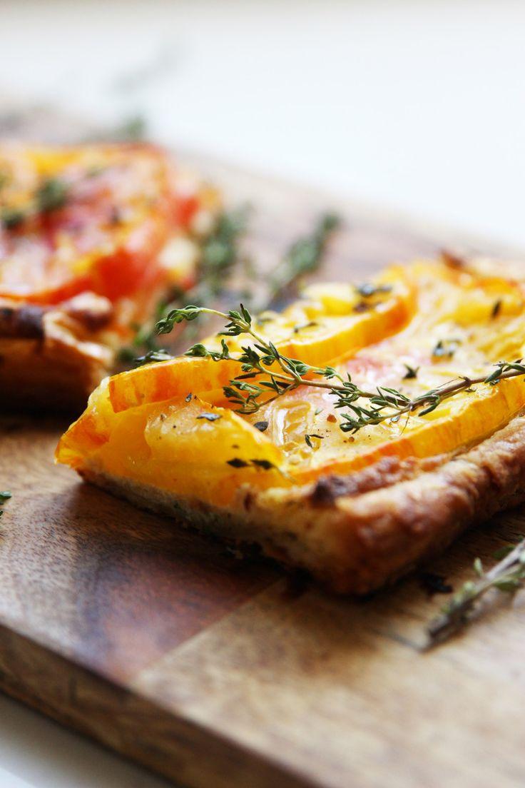 Tomato and Almond Tart
