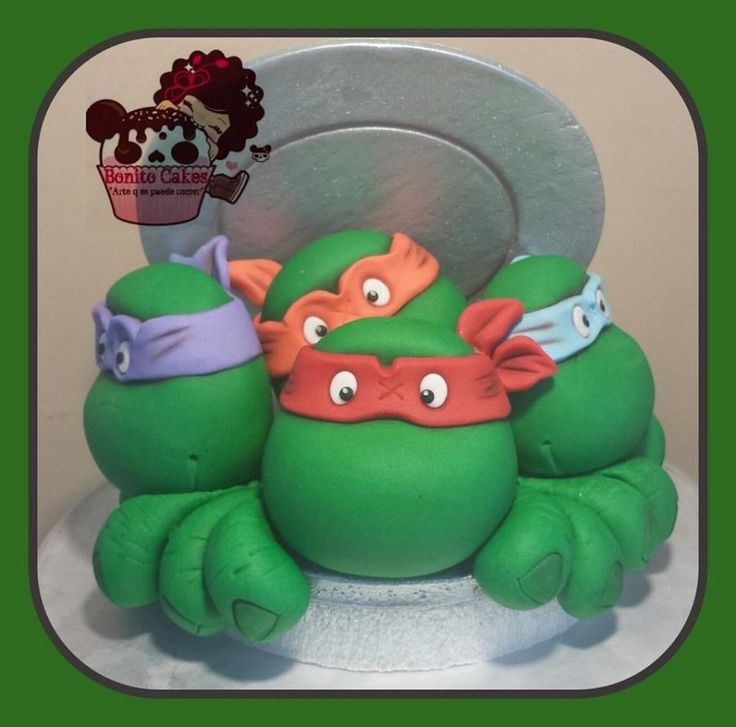 Teenage Mutant Ninja Turtle Cake Toppers Australia