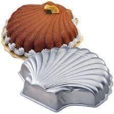 Seashell Cake Tin Hire