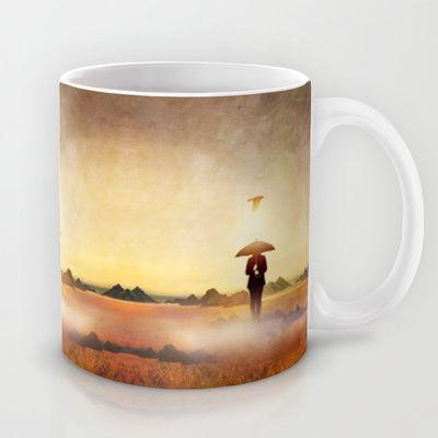 Waiting for the rain Mug by Viviana Gonzalez - $15.00