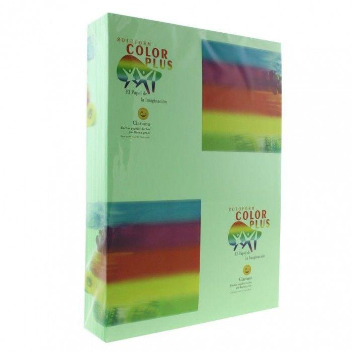 Carton colorat verde fistic, A4, 160g/mp, 250 coli/top, Clariana - Carton Colorat - Papetarie