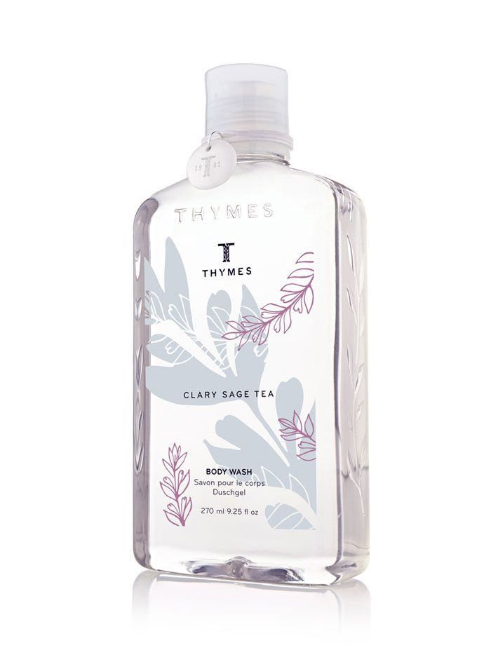 // Thymes Clary SageTea - The Dieline //