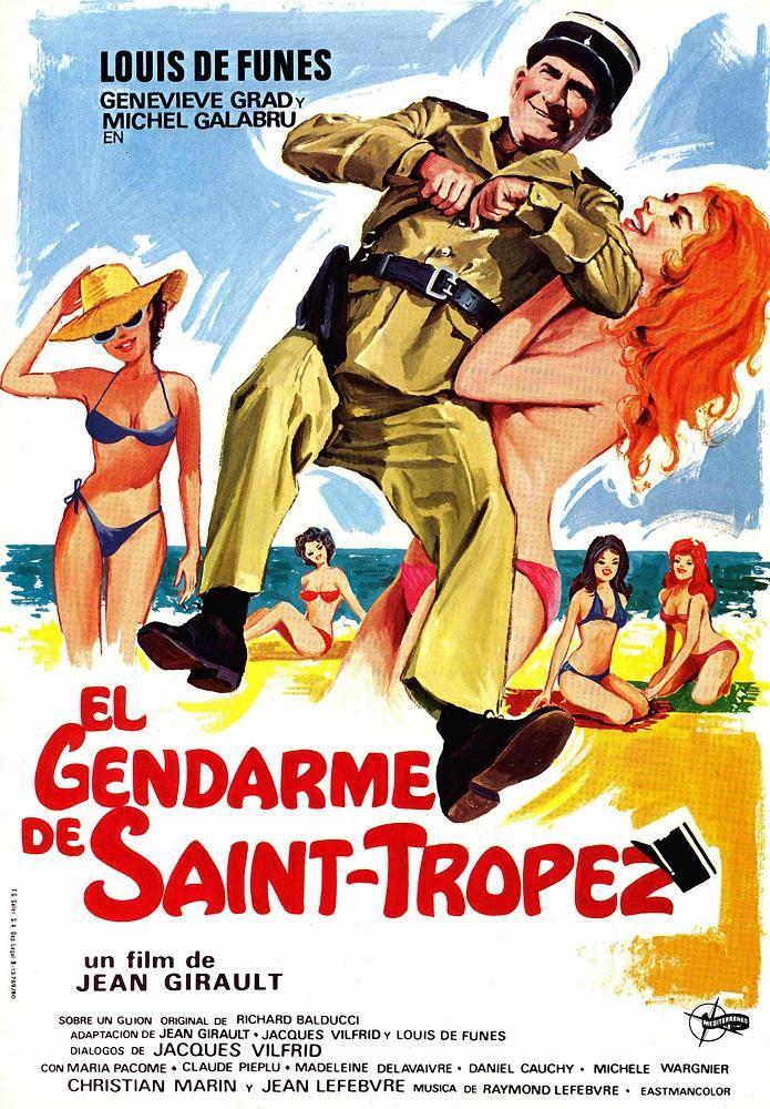 Le gendarme de Saint-Tropez - film 1964 -