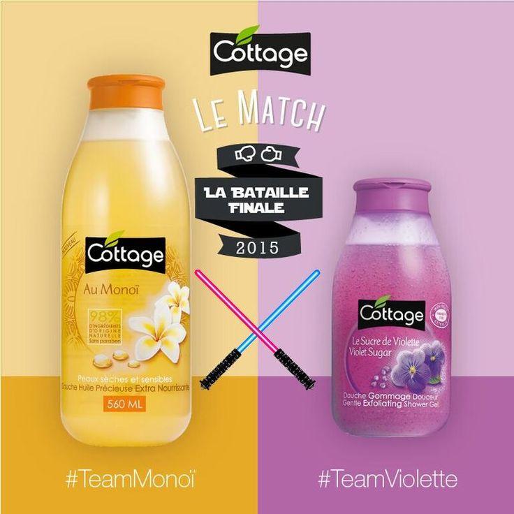 Etes-vous plutôt #TeamMonoil ou #TeamViolette ? Soutenez votre team dans les commentaires !