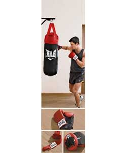 Everlast 3ft Boxing Set with Punch Bag.