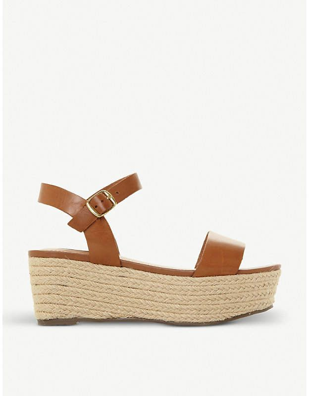 f783af4a6b1 Steve Madden Busy SM leather and jute platform sandals | Products ...