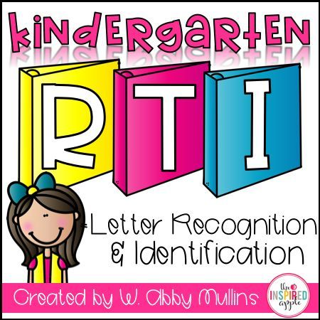 This intervention curriculum is the perfect program to implement with students who struggle with letter identification. Teachers love this Common Core Standards-based program that focuses on letter identification and recognition in a simple, easy-to-follow format that has proven itself through student success. There are several activities for each letter of the alphabet, with picture samples for easy reference. It's easily stored in a binder to keep your small group time organized and efficie...