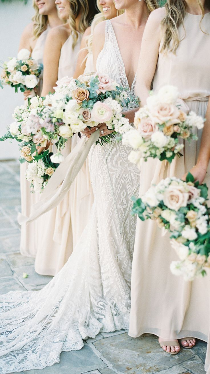 Bridal Glam Meets Organic Florals In This Italian Inspired Wedding