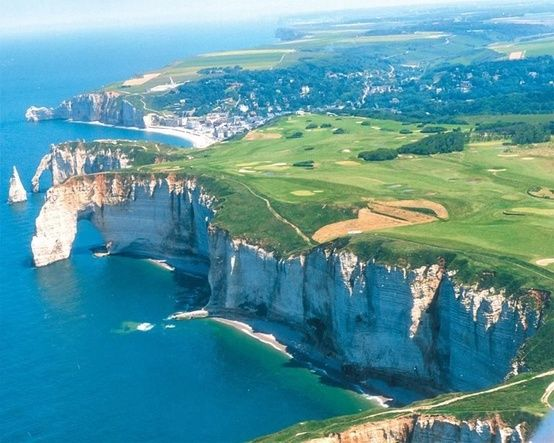 Une beauté bord de mer -- Etretat Golf Course, France