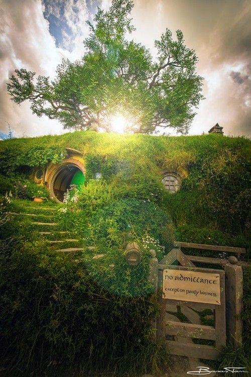 Hobbiton, New Zealand (by Banan Tarr)