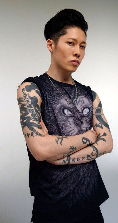 58 best images about miyavi on pinterest posts lip for Miyavi tattoos gallery